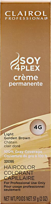 4G Light Golden Brown Premium Creme Hair Color