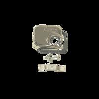 1000C Plain Hose Receiver - Chrome