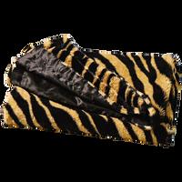Zebra Faux Fur Blanket