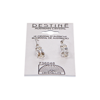 Destine Cube Dangle Earrings