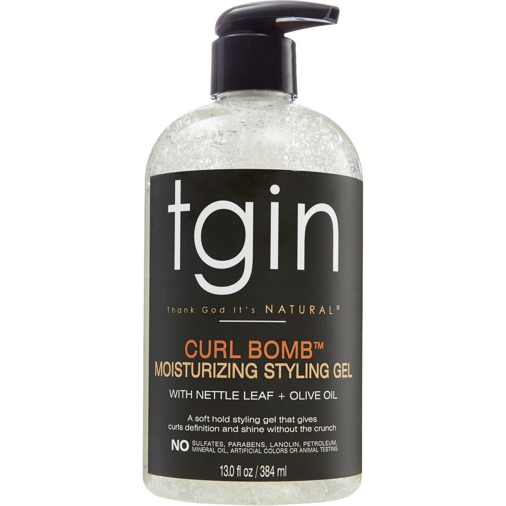 Hair Gel Styles: TGIN Curl Bomb Moisturizing Styling Gel
