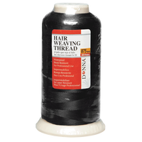 Black 875 Yard Hair Weaving Thread