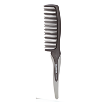 Rubber Handle Detangler Comb