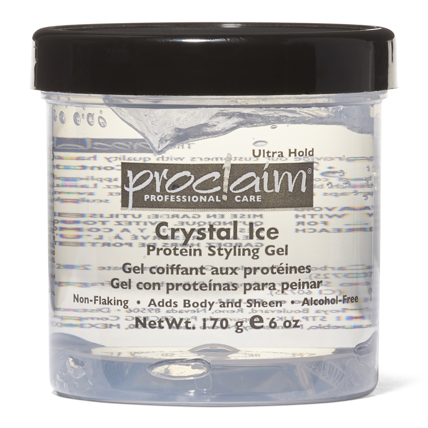 Hair Gel Styles: Proclaim Crystal Ice Protein Styling Gel