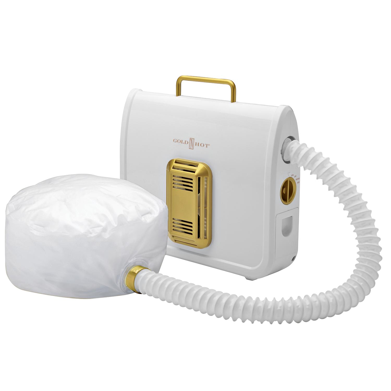 Bonnet Hair Dryer ~ Gold n hot professional ionic soft bonnet dryer