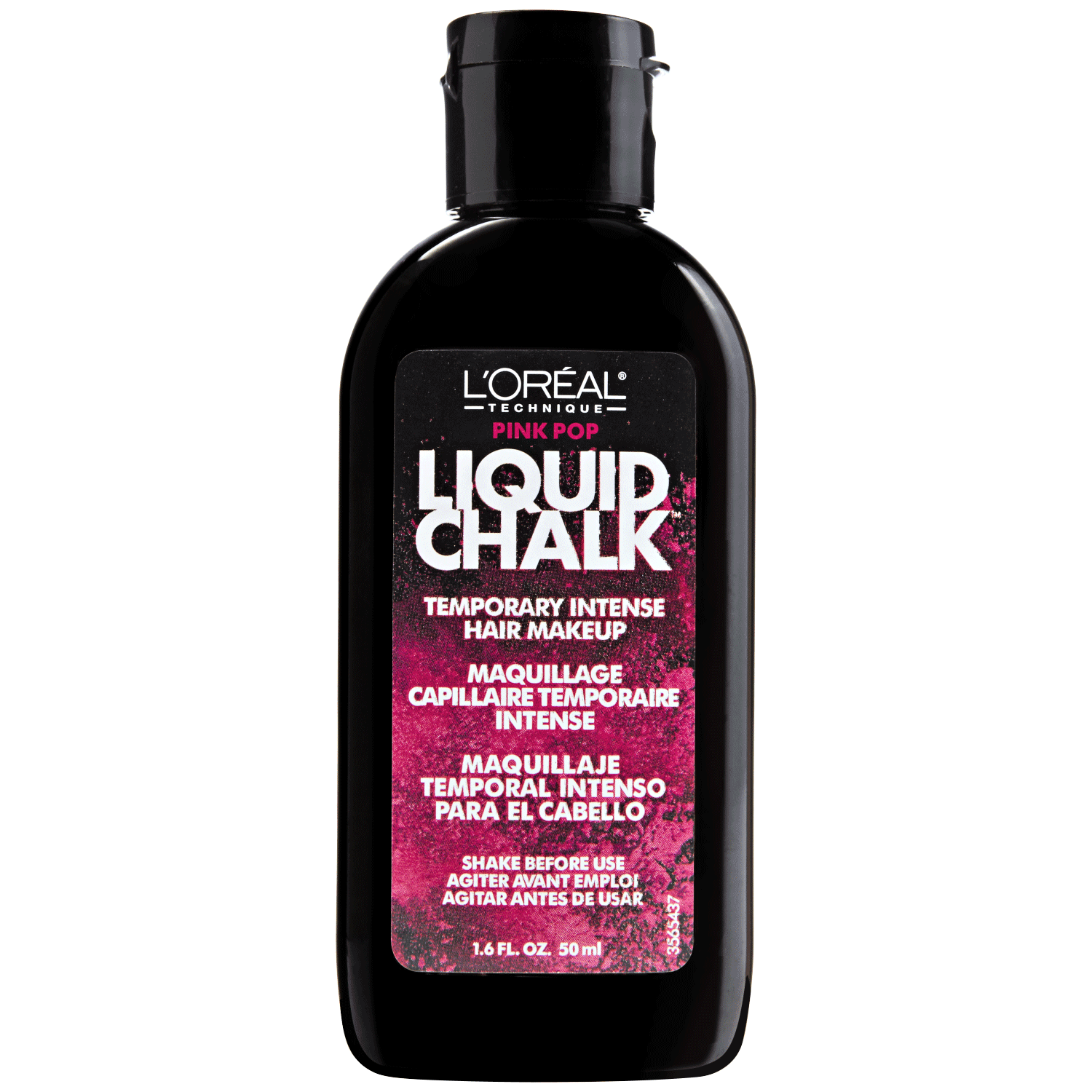 Pink Pop Liquid Chalk Temporary Intense Hair Makeup