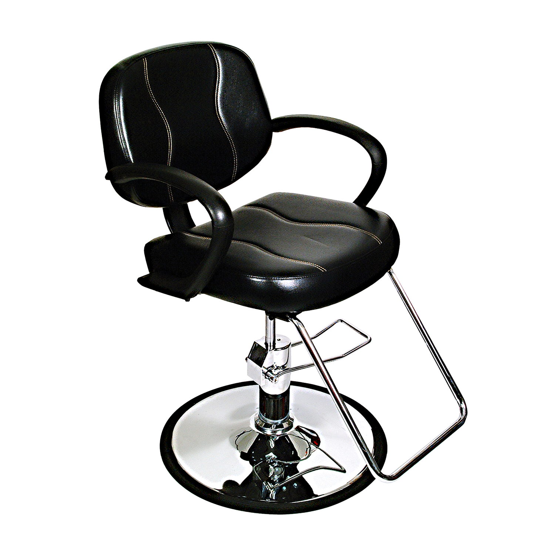 Kenna Styling Chair Black
