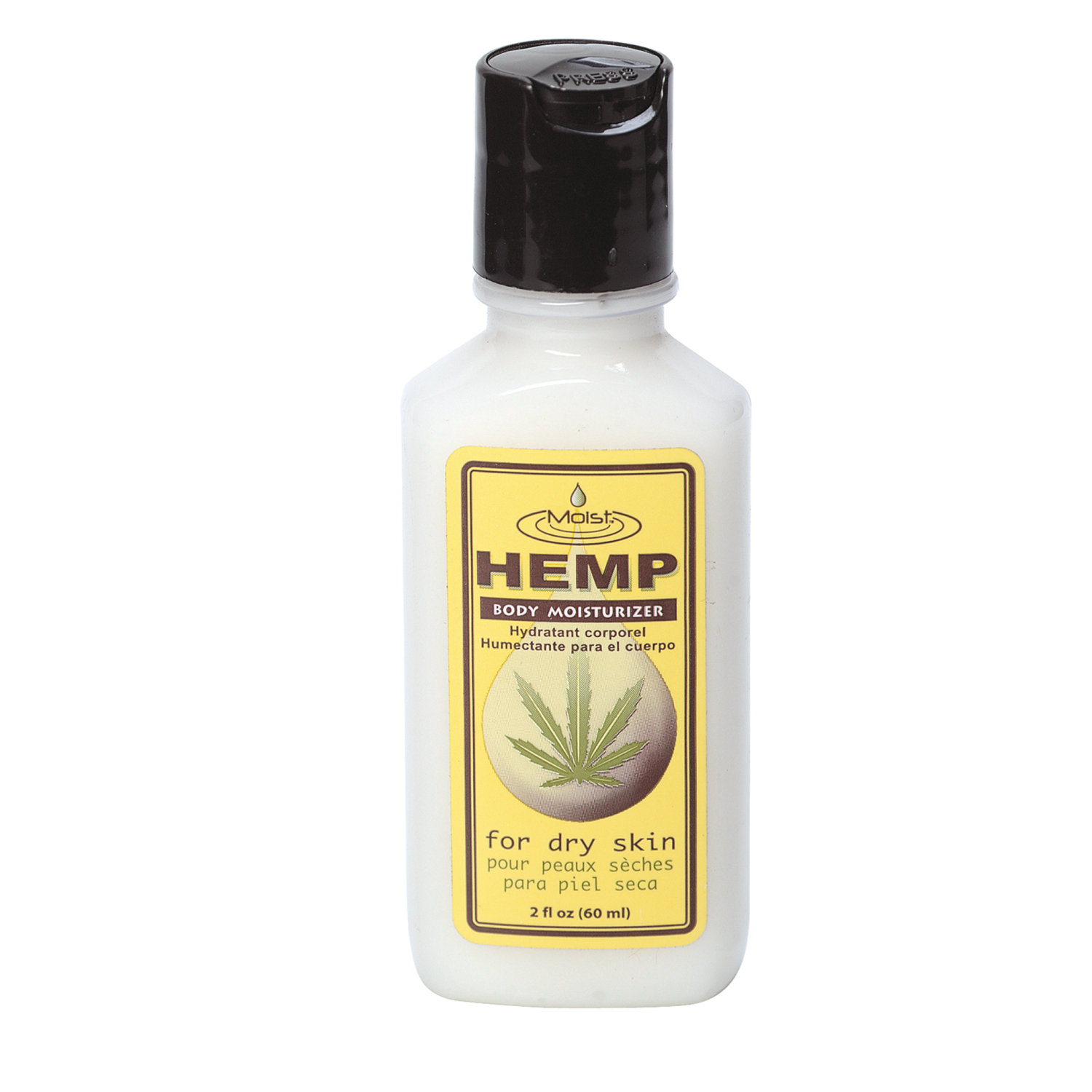 Moist hemp coupons