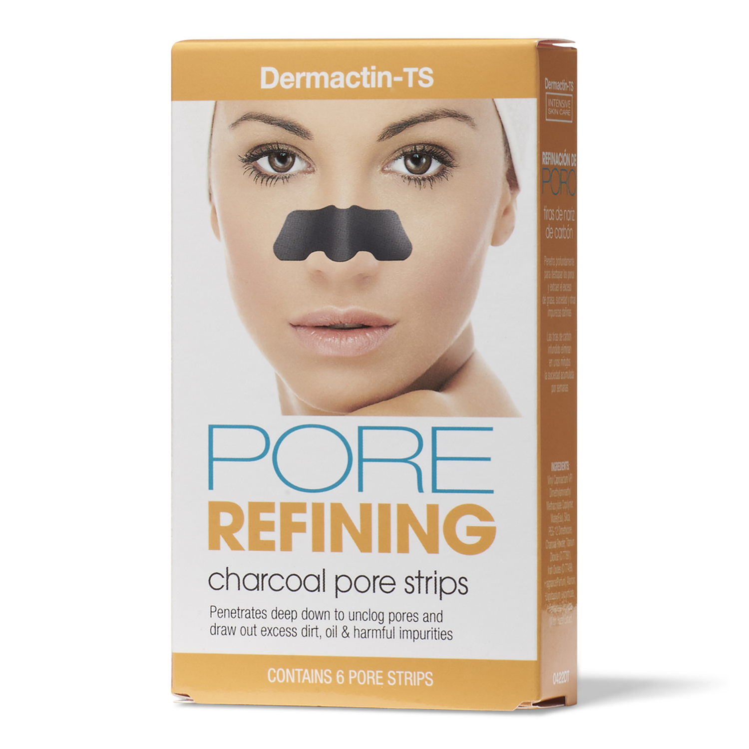 Pore Refining Charcoal Pore Strips