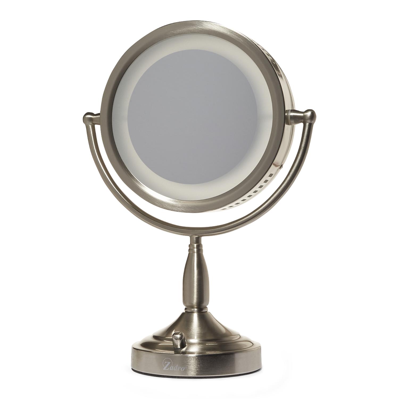 Zadro 8x 1x Lighted Vanity Makeup Mirror