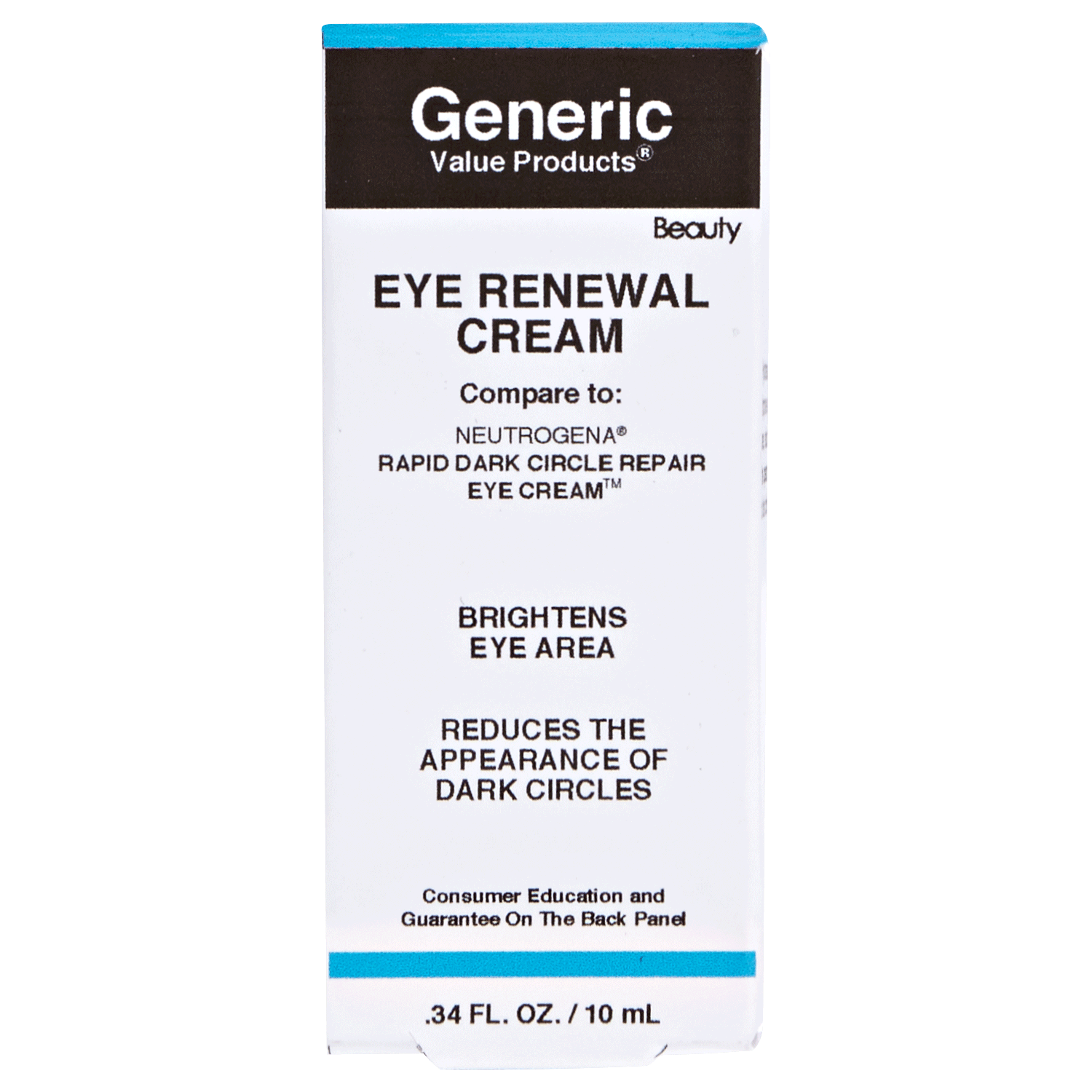 Advanced Eye Renewal Cream Compare to Neutrogena Rapid Dark Circle Repair Eye Cream