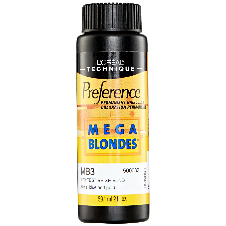 MB3 Beige Blonde Permanent Hair Color