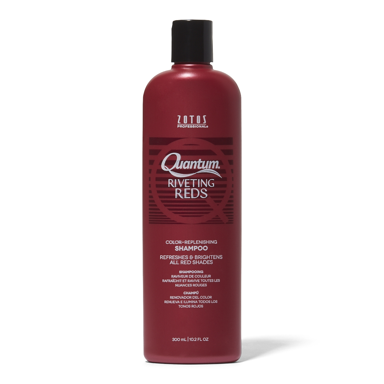 Quantum Riveting Reds Daily Color Replenishing Shampoo