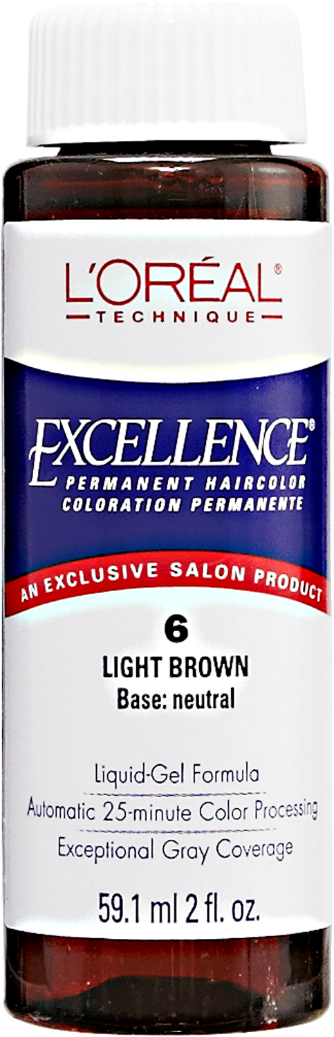 Light Brown Permanent Liquid Hair Color