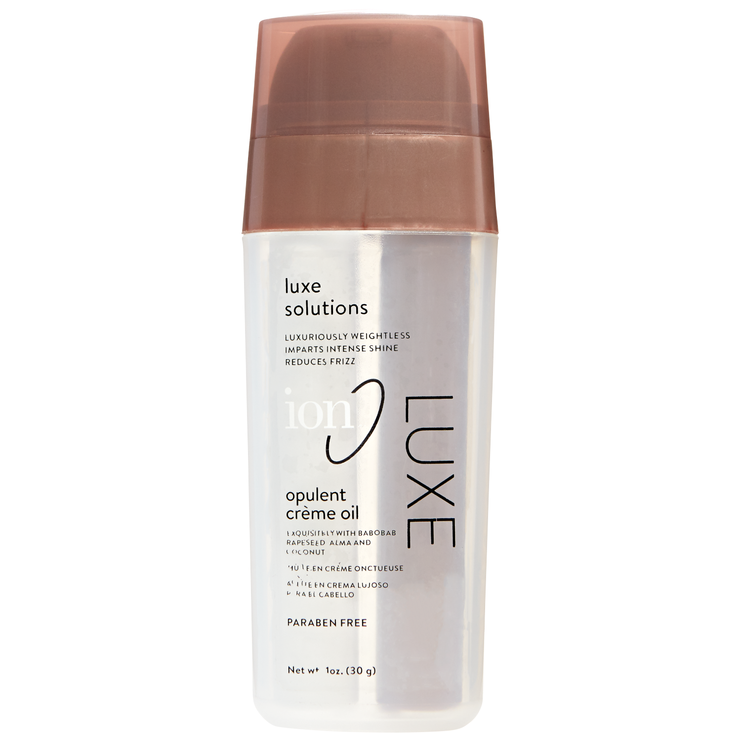 Luxe Beauty Luxe Lotion: Ion Luxe Opulent Shine Creme