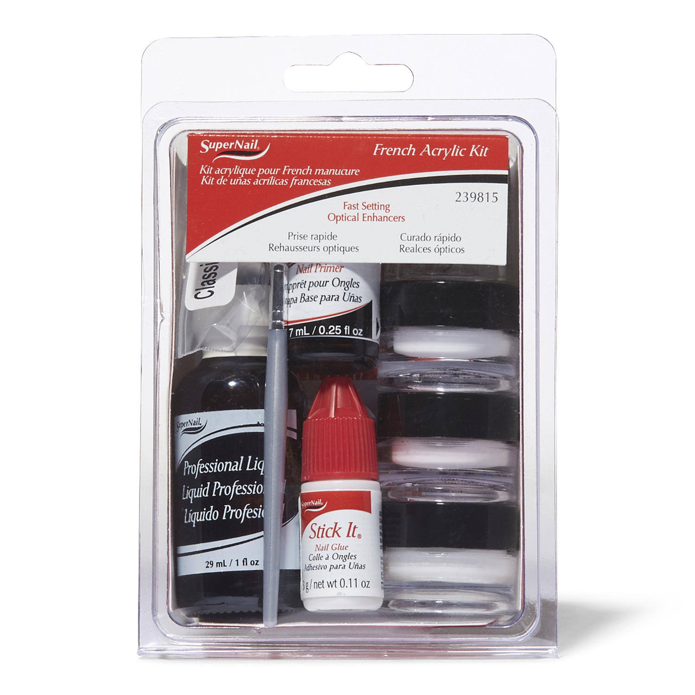 Acrylic Nail Kit Supplies: SuperNail Acrylic French Kit
