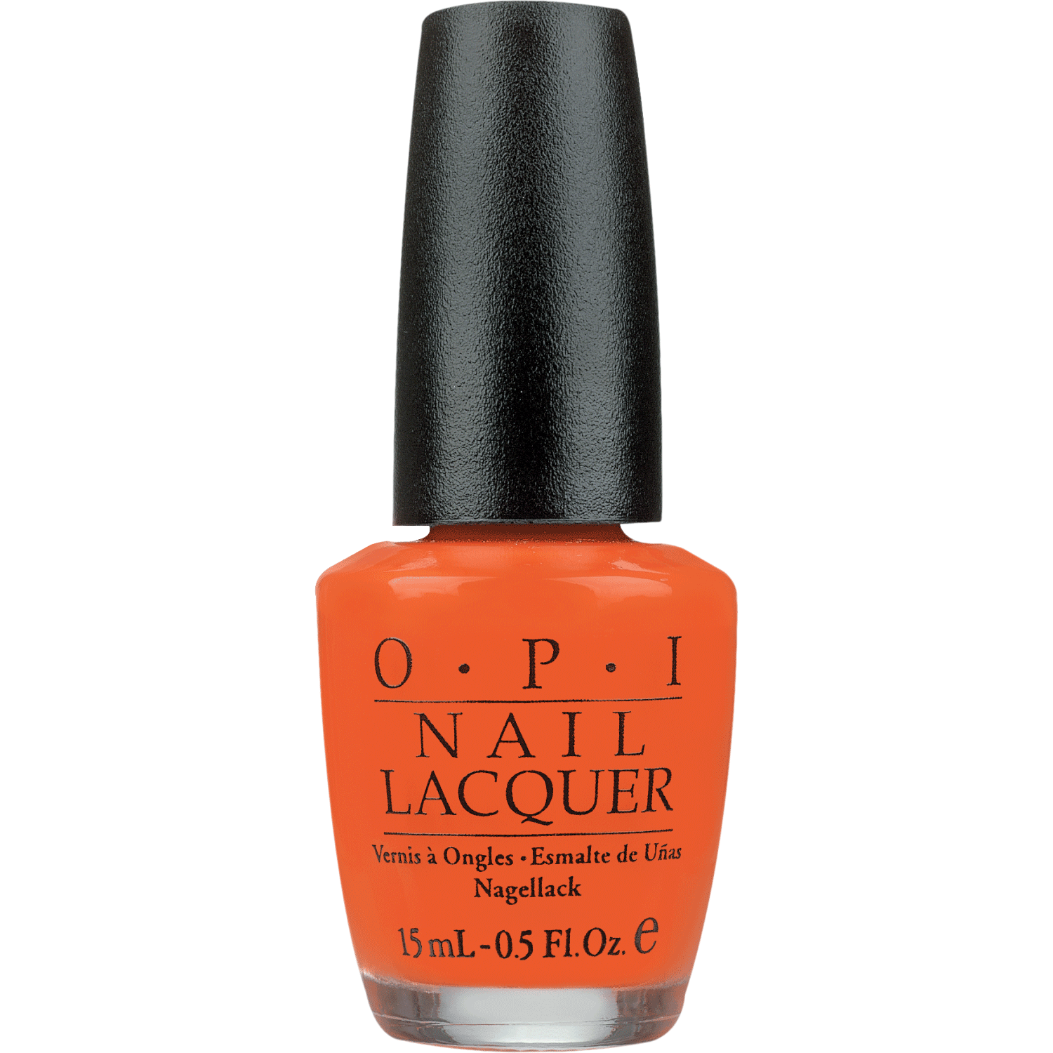 how to wear orange nail polish