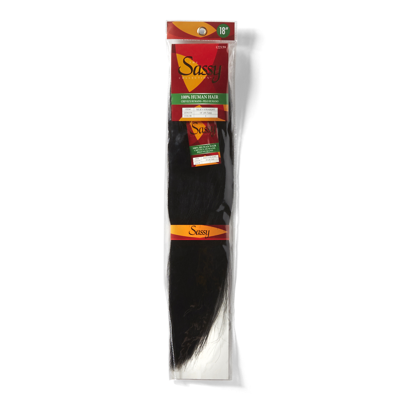 Sassy silky straight 18 inch human hair extensions pmusecretfo Gallery