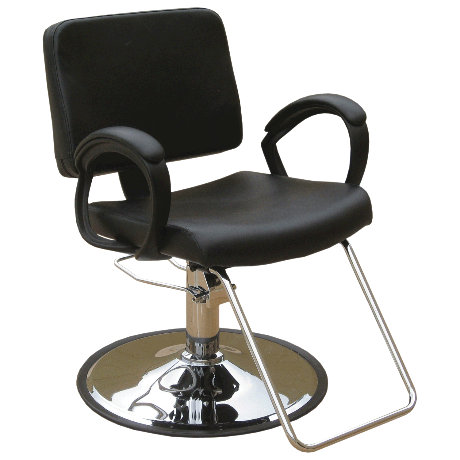 Puresana ava styling chair with base for Salon bench