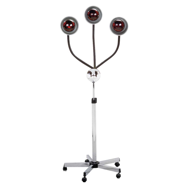 3-Head Infra-Red Heat Lamp