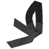 Headwrap Black Lace