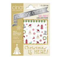 Holiday Cheer Decals Christmas Is Here