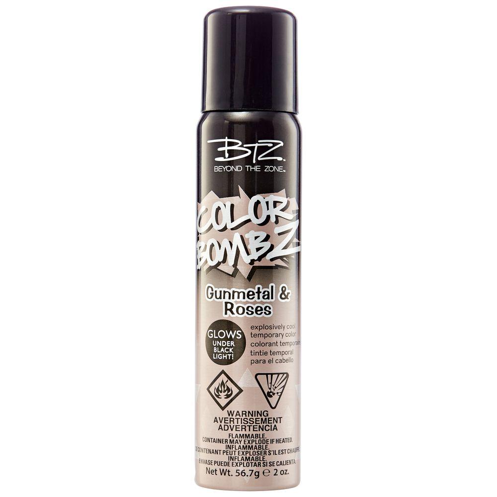 Gunmetal Roses Temporary Hair Color Spray
