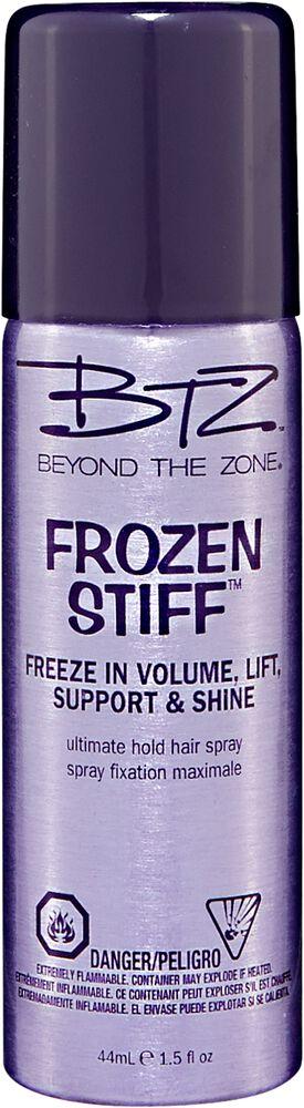 beyond the zone frozen stiff ultimate hold travel hair spray