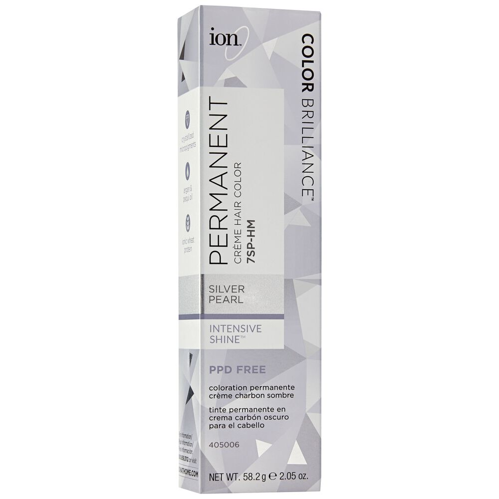 Ion 7sp Hm Silver Pearl Permanent Creme Hair Color By Color