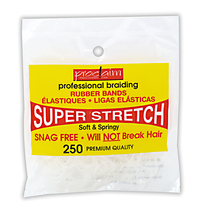 Rubber Bands Clear 200 Count