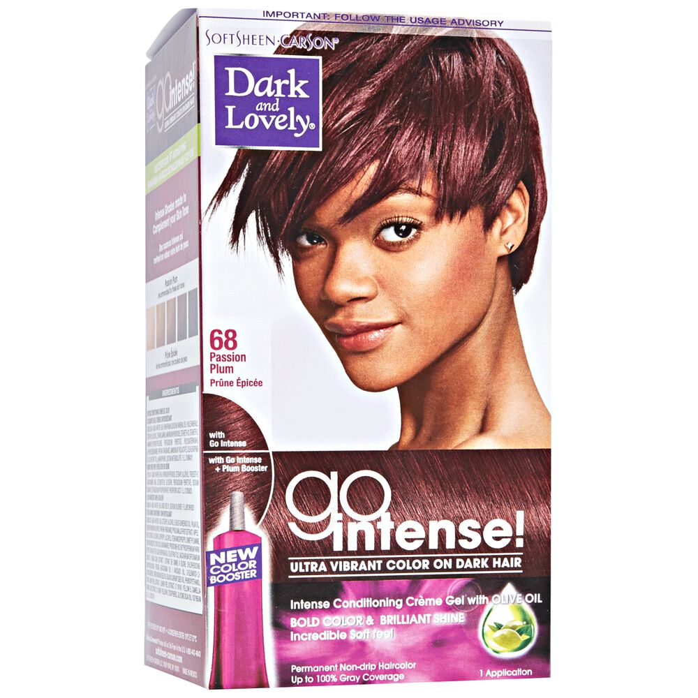 Go Intense Passion Plum Permanent Hair Color By Dark Lovely