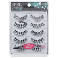 5 Pack Black Wispies Lashes