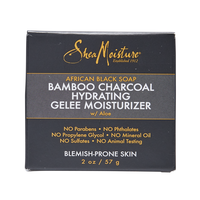 African Black Soap Bamboo Charcoal Hydrating Gelee Moisturizer