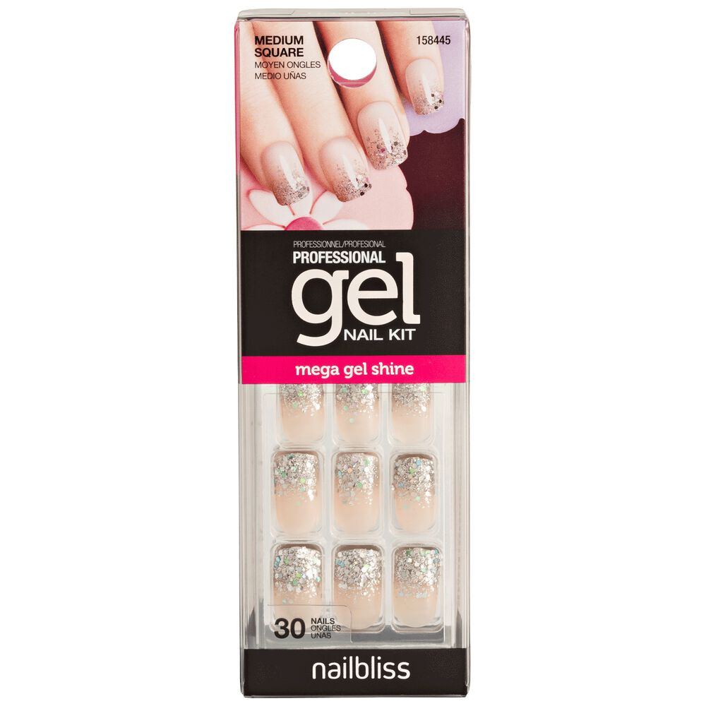 Gel Nail Ready Set Sparkle Kit - Sally USA
