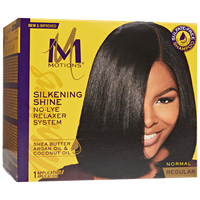 Silkening Shine No Lye Relaxer Regular