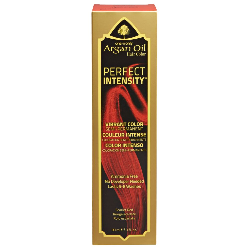 One N Only Argan Oil Hair Color Perfect Intensity Scarlet Red