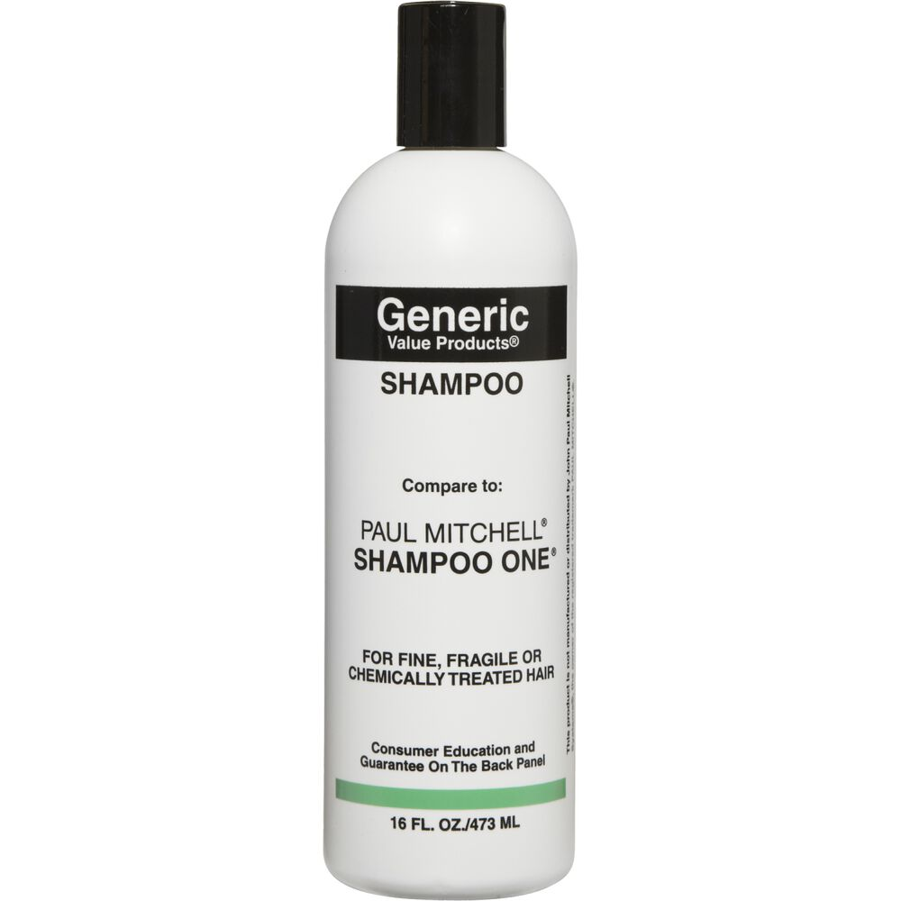 generic value products shampoo compare to paul mitchell shampoo one shampoo sally beauty. Black Bedroom Furniture Sets. Home Design Ideas