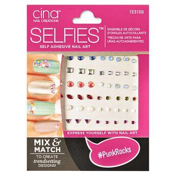Cina selfies self adhesive nail art punkrocks self adhesive nail art solutioingenieria Image collections