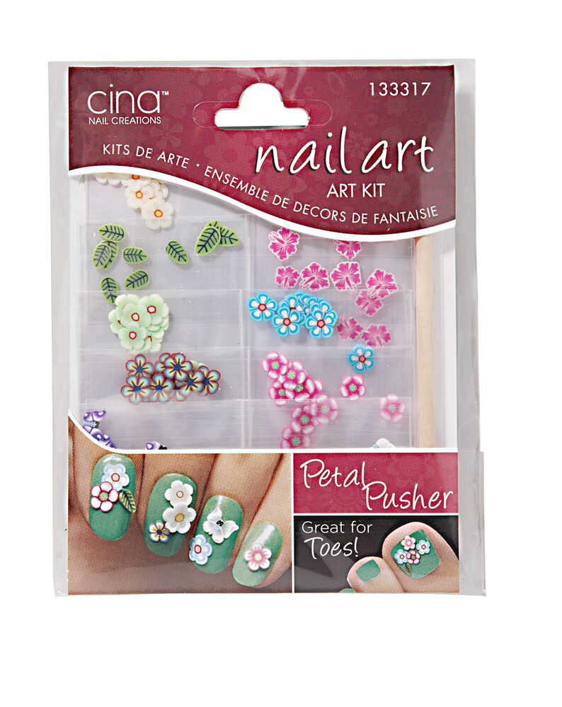 Cina Nail Creations Fimo Shapes Art Jewelry Decals Petal Pusher