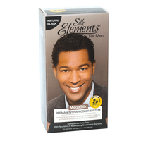 Permanent Hair Color System For Men Natural Black