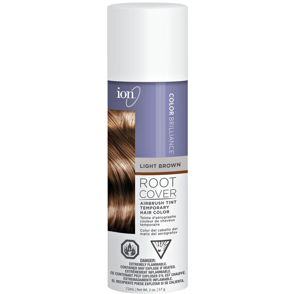 Light Brown Ion Color Brilliance Root Cover Up Spray Sally Beauty
