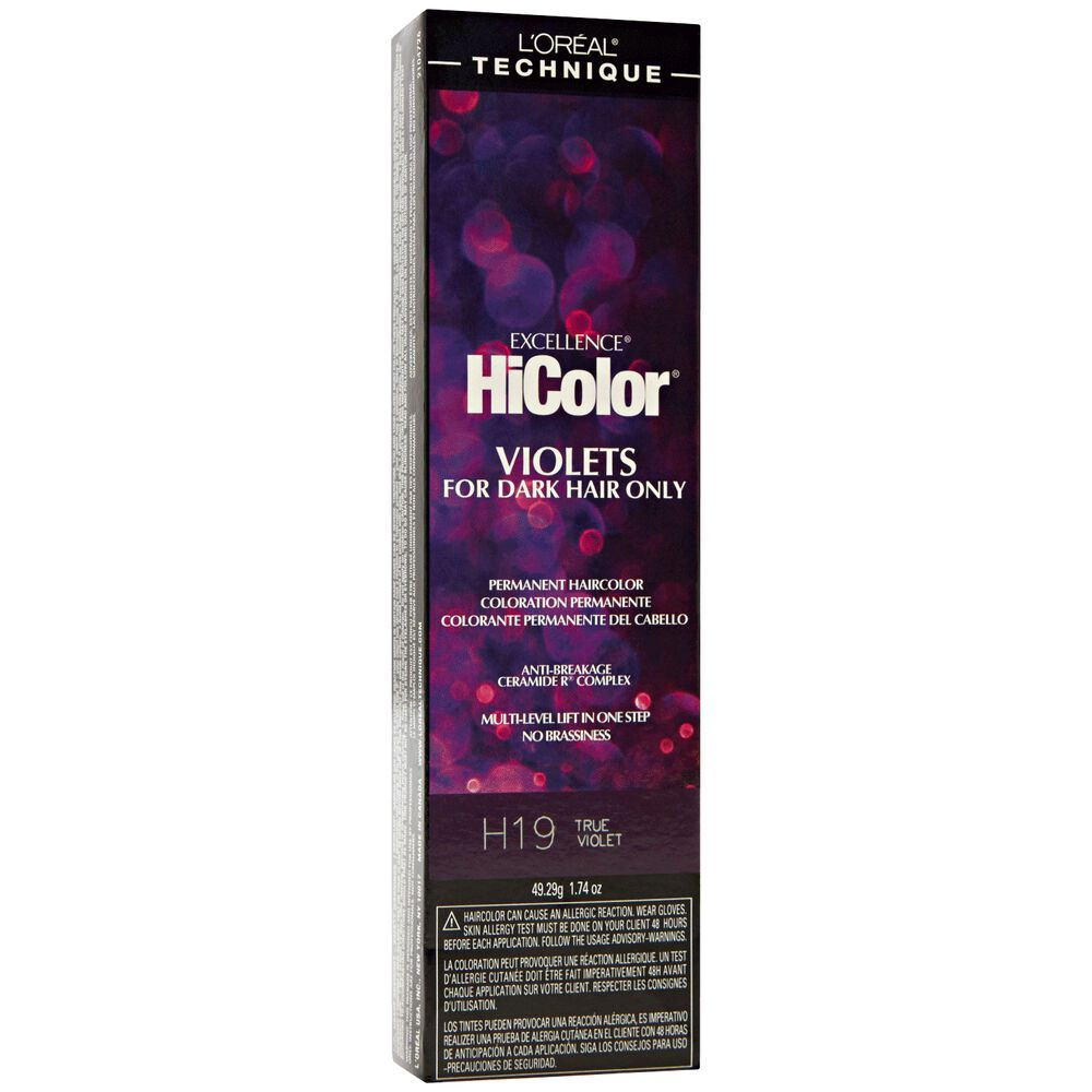 Loreal H20 Red Violet Permanent Hair Color By Excellence