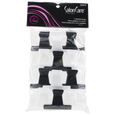 Black & White 2 Inch Butterfly Clamps