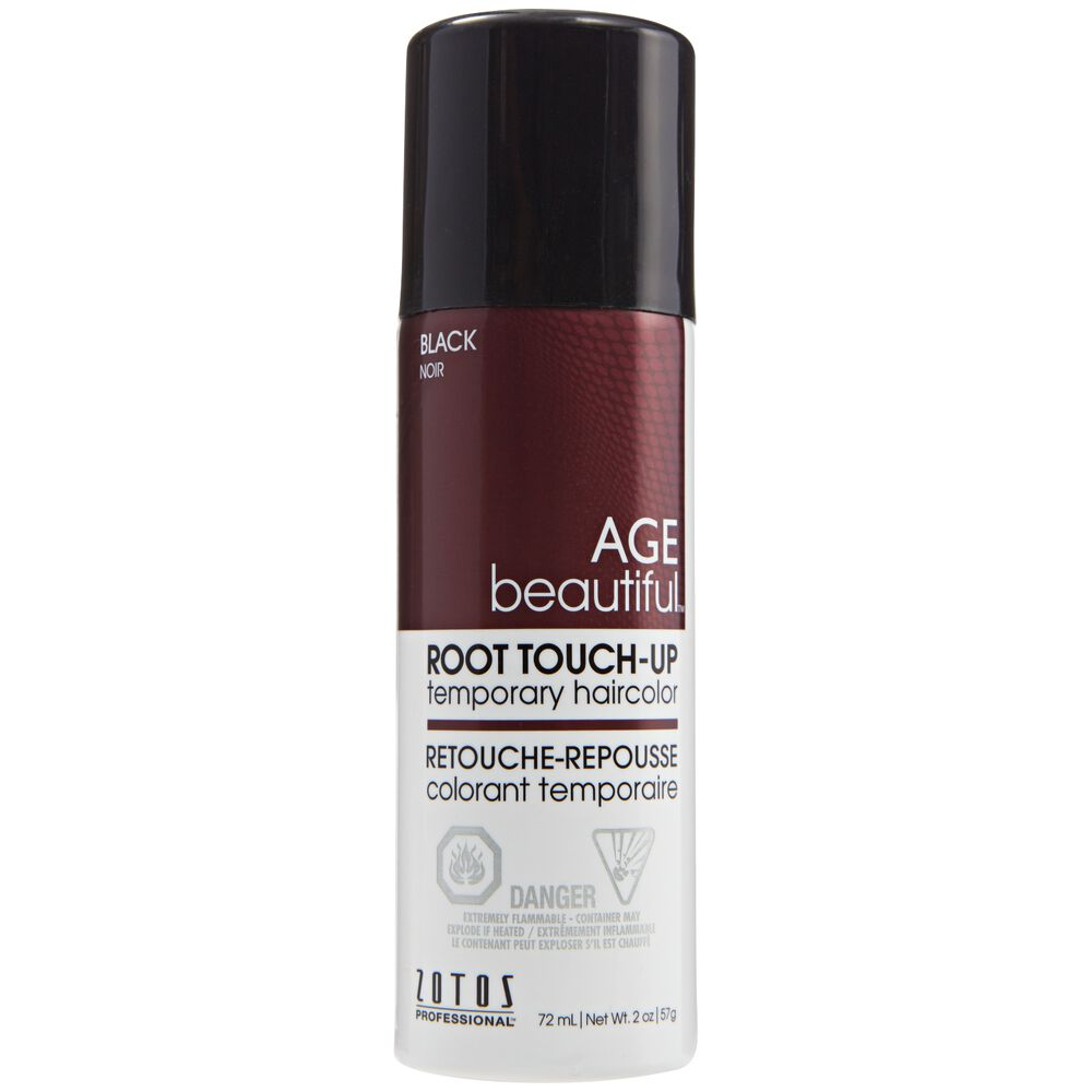 Black Agebeautiful Root Touch Up Spray Sally Beauty