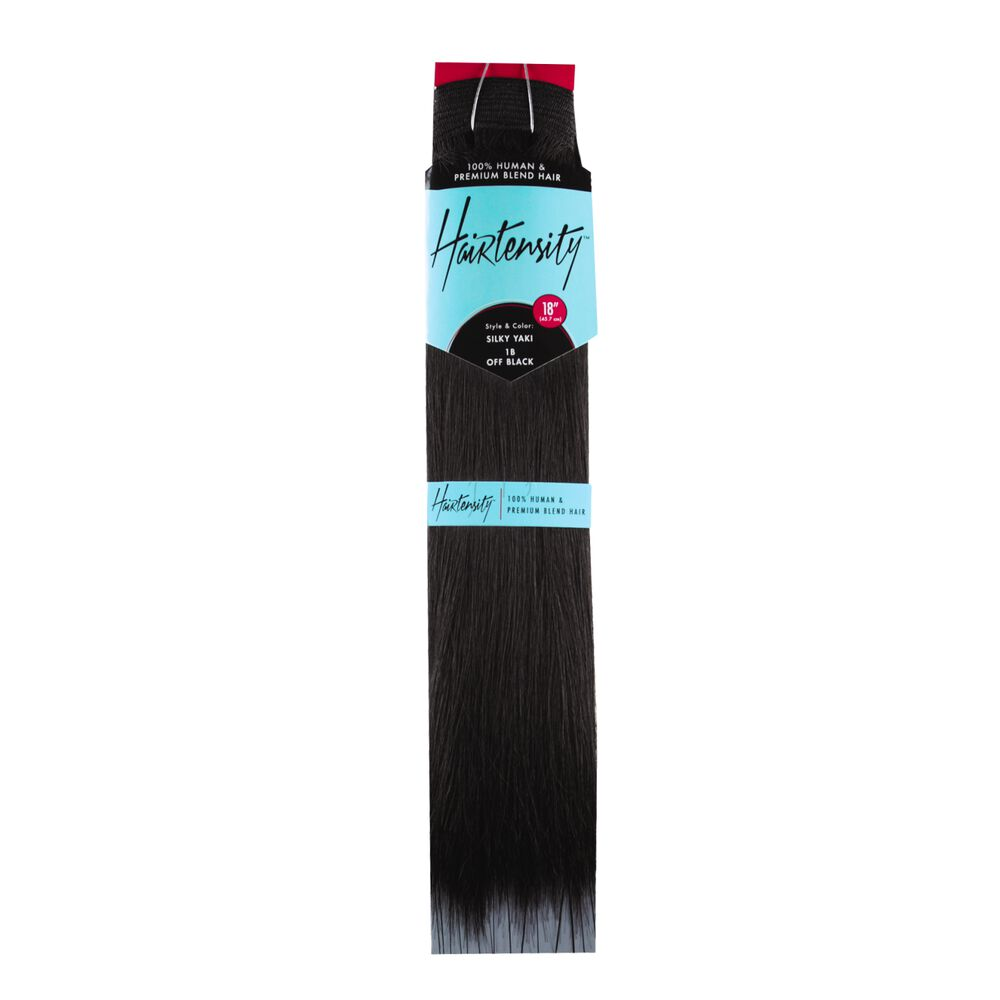 Hairtensity Human And Premium Blend Hair 18 Inch