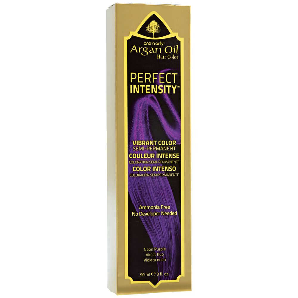One N Only Perfect Intensity Argan Oil Hair Color Neon Purple