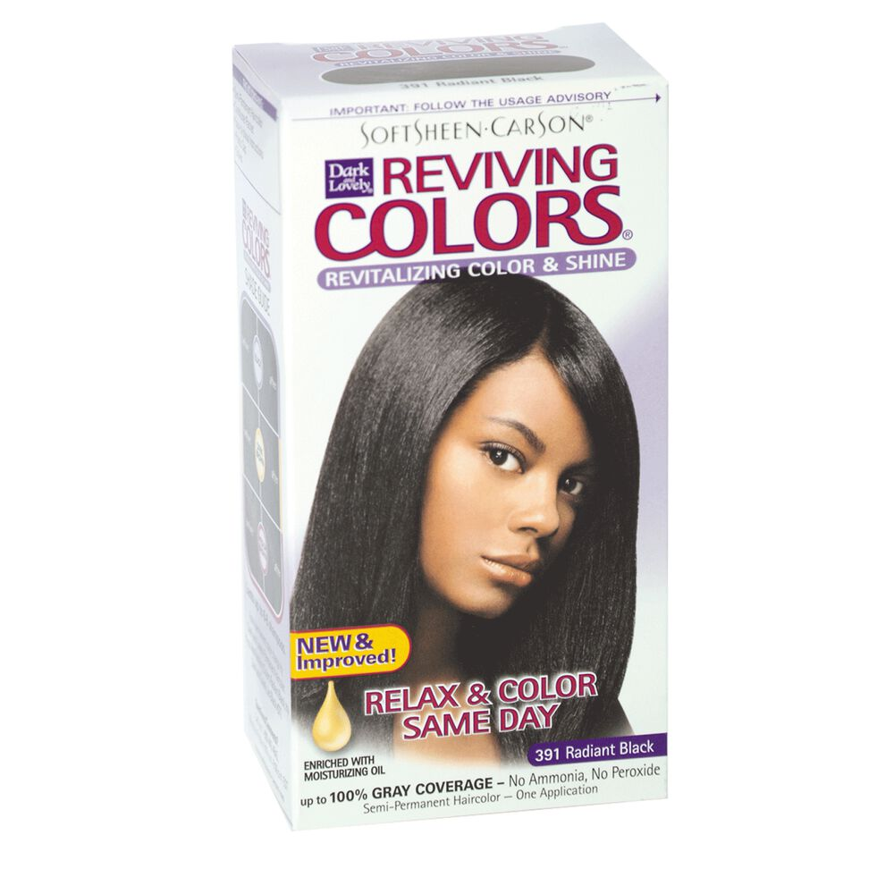 Dark And Lovely Reviving Semi Permanent Hair Color
