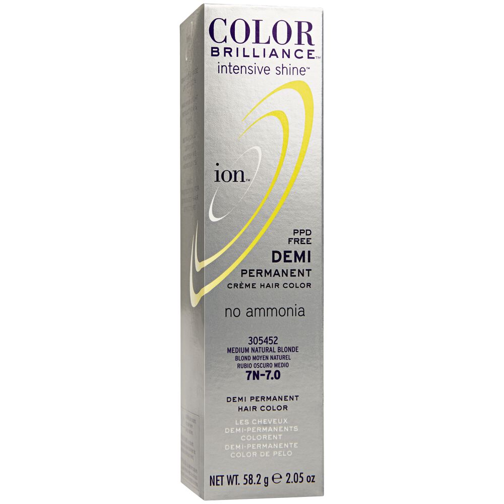Intensive Shine 7n Medium Natural Blonde Demi Permanent Creme Hair Color