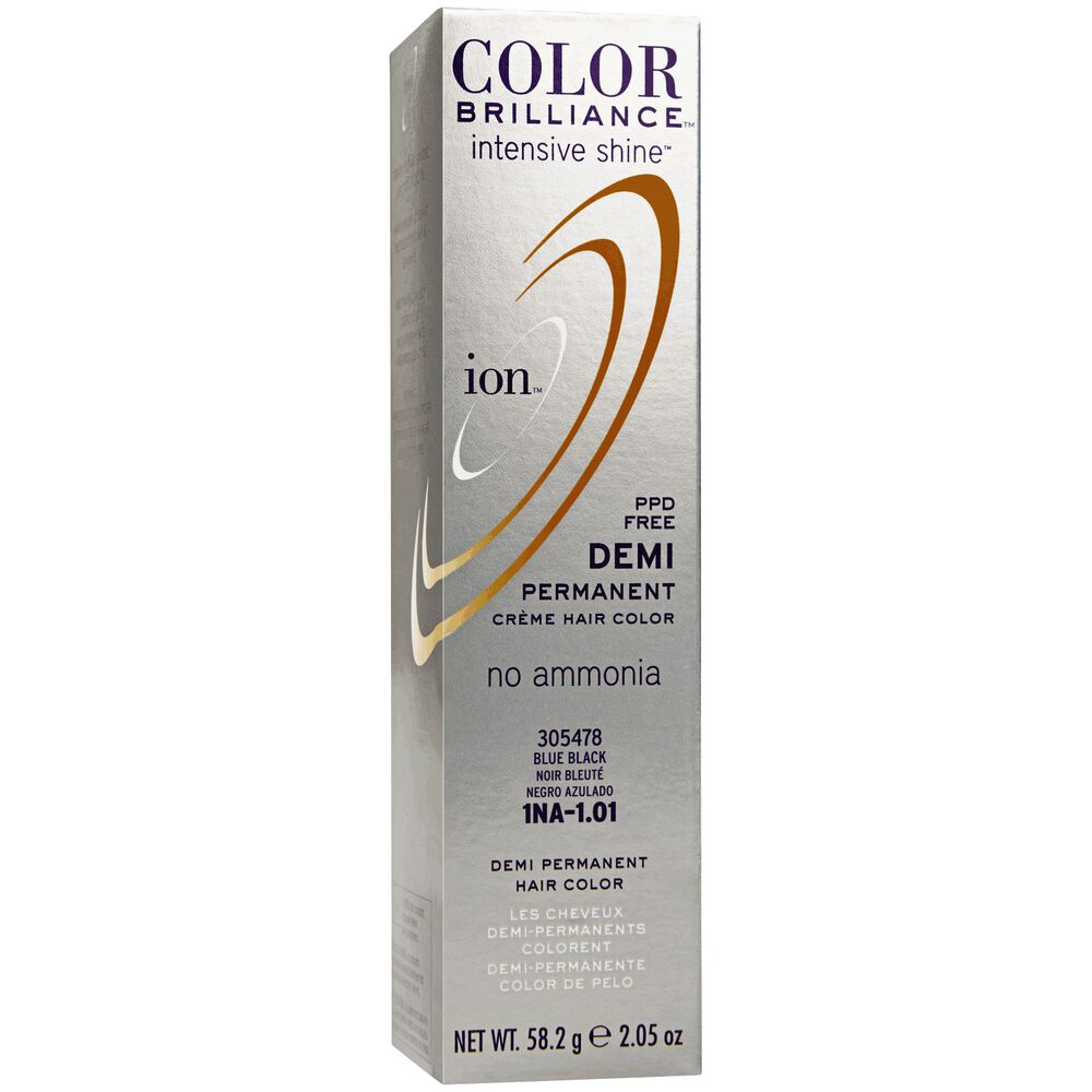 Intensive Shine 1na Blue Black Demi Permanent Creme Hair Color