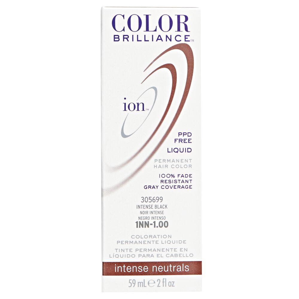Ion 1nn Intense Black Permanent Liquid Hair Color By Color